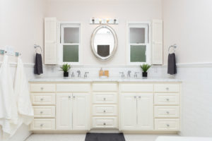 Image of clean shared bathroom